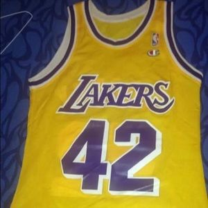 Vintage James Worthy Lakers Replica Jersey